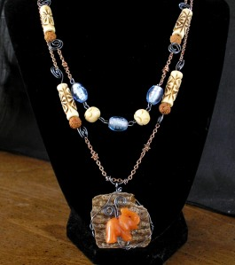serengeti necklace by rlc