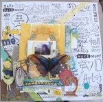 Scrapbook art by Tracy Carrig