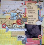 Tracy's Scrapbook Page
