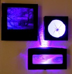 Illuminated Picture Boxes for Halloween