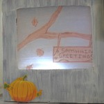 Illuminated Picture Boxes Samhain Greetings