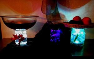 Submersible Lights in Buffett SettingA