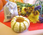pumpkin bouquet candle materials