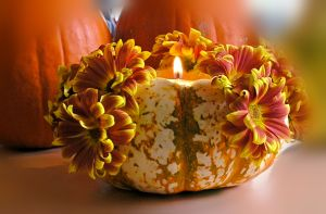 pumpkin bouquet candle alternative