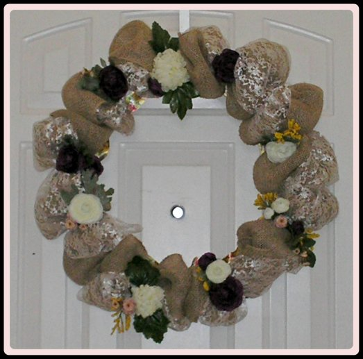 Mother's Day Wreath by rlc